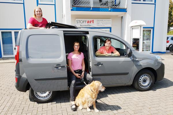 Neuer Firmenwagen von STOFFart